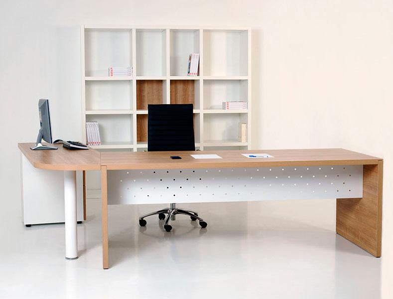 Mesa de Oficina Pannel - vista frontal - Limobel Inwo