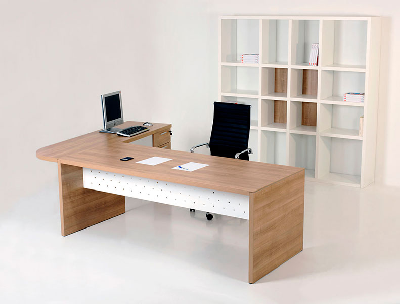 Mesa de Oficina Pannel - con esquina - Limobel Inwo