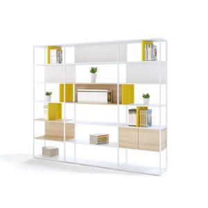 Librería 2020 - Personalizable y Moderna - Muebles de oficina Limobel