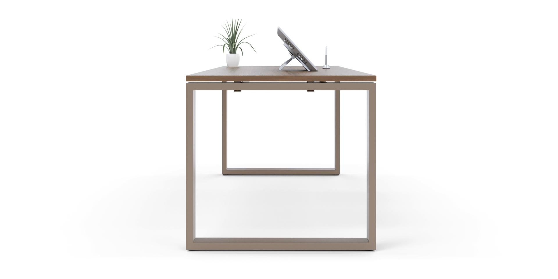 Mesa de Oficina Serie Force Modelo Close - Limobel Inwo