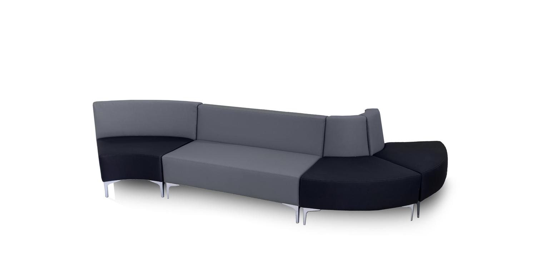 Serie Sofás Curve - Modular y Configurable - Limobel Inwo