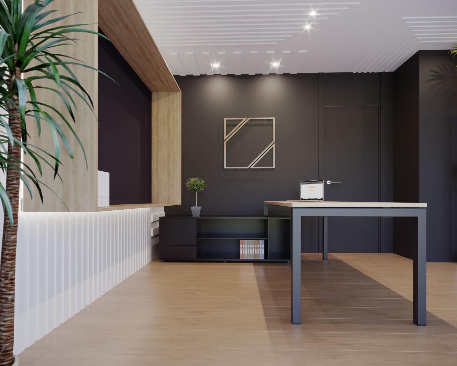 Mesa de Oficina Nix - Operativa y Sorprendente - Limobel Inwo