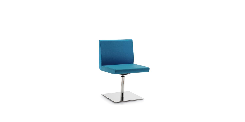 Silla de oficina Sofía Azul - Mobliario de oficinas, Contract y Colectividades - Limobel Inwo