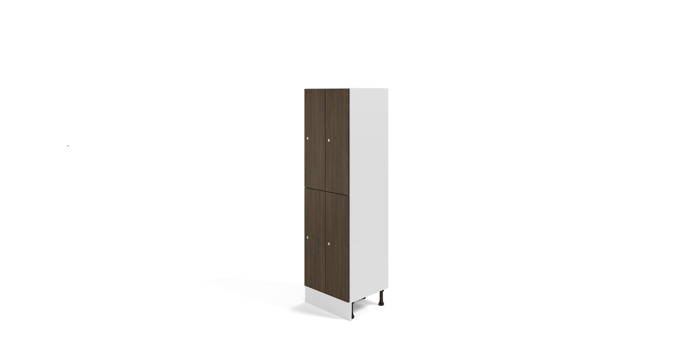 Taquillas Melamina - Vestuarios y Mobiliario de Oficina - Limobel Inwo