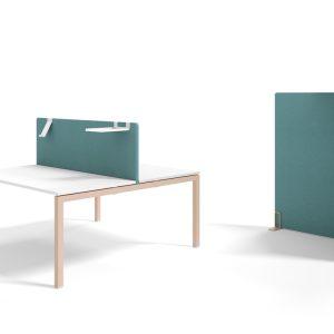 Separador de mesa Acustic Premium - Fonoabsorbiente - limobel Inwo