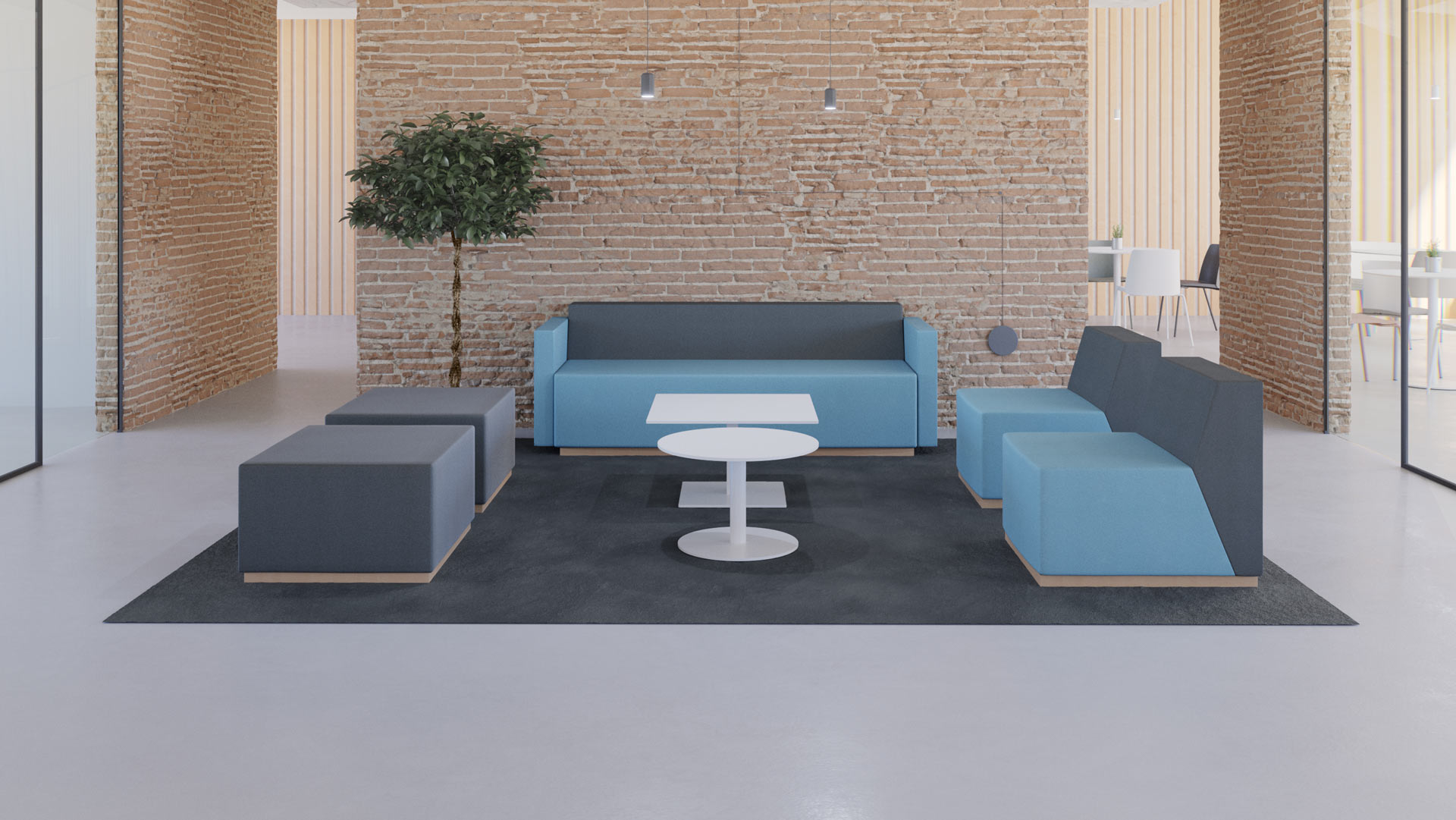 Sillas y sofas para oficina y contract - Limobel inwo