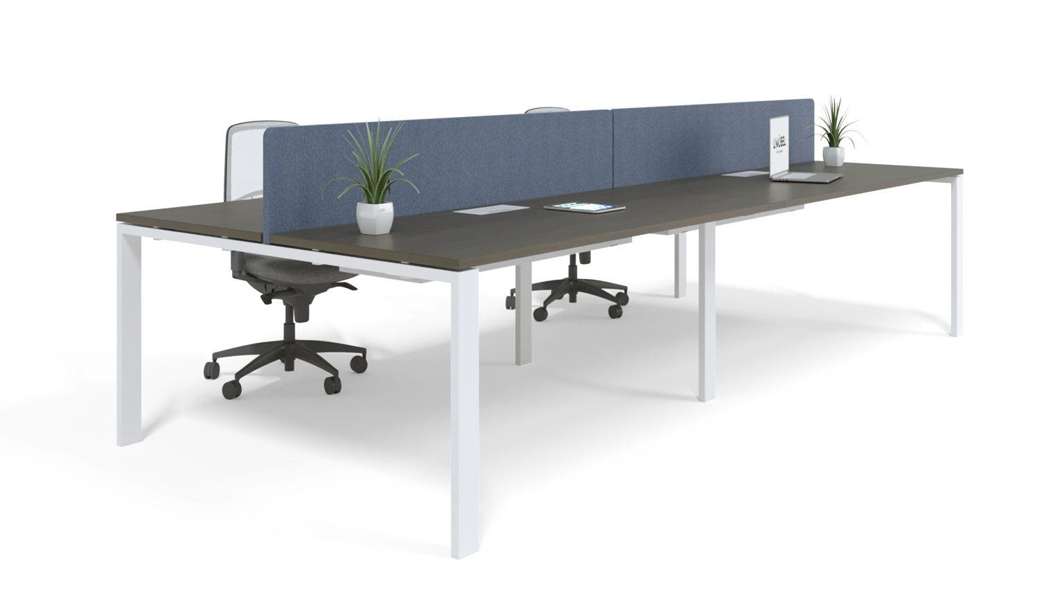 Mesa de Oficina Serie Force Modelo Portico - Limobel Inwo