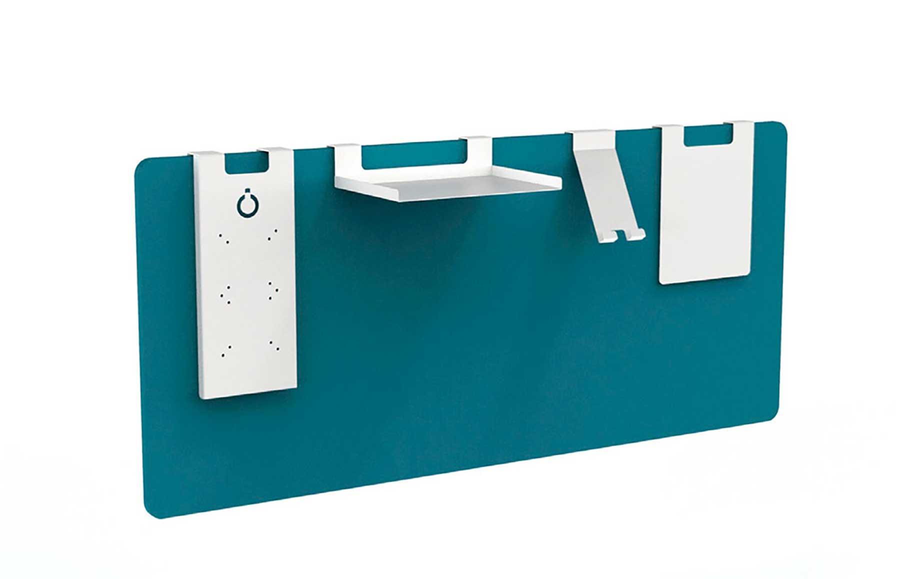 Complementos metálicos para colocar en los separadores de mesa