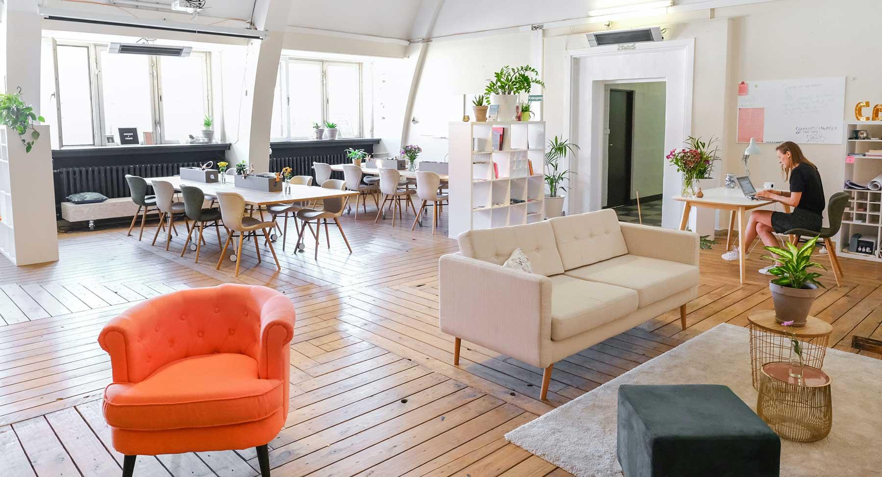 Diseño de oficinas confortable y con alma de hogar
