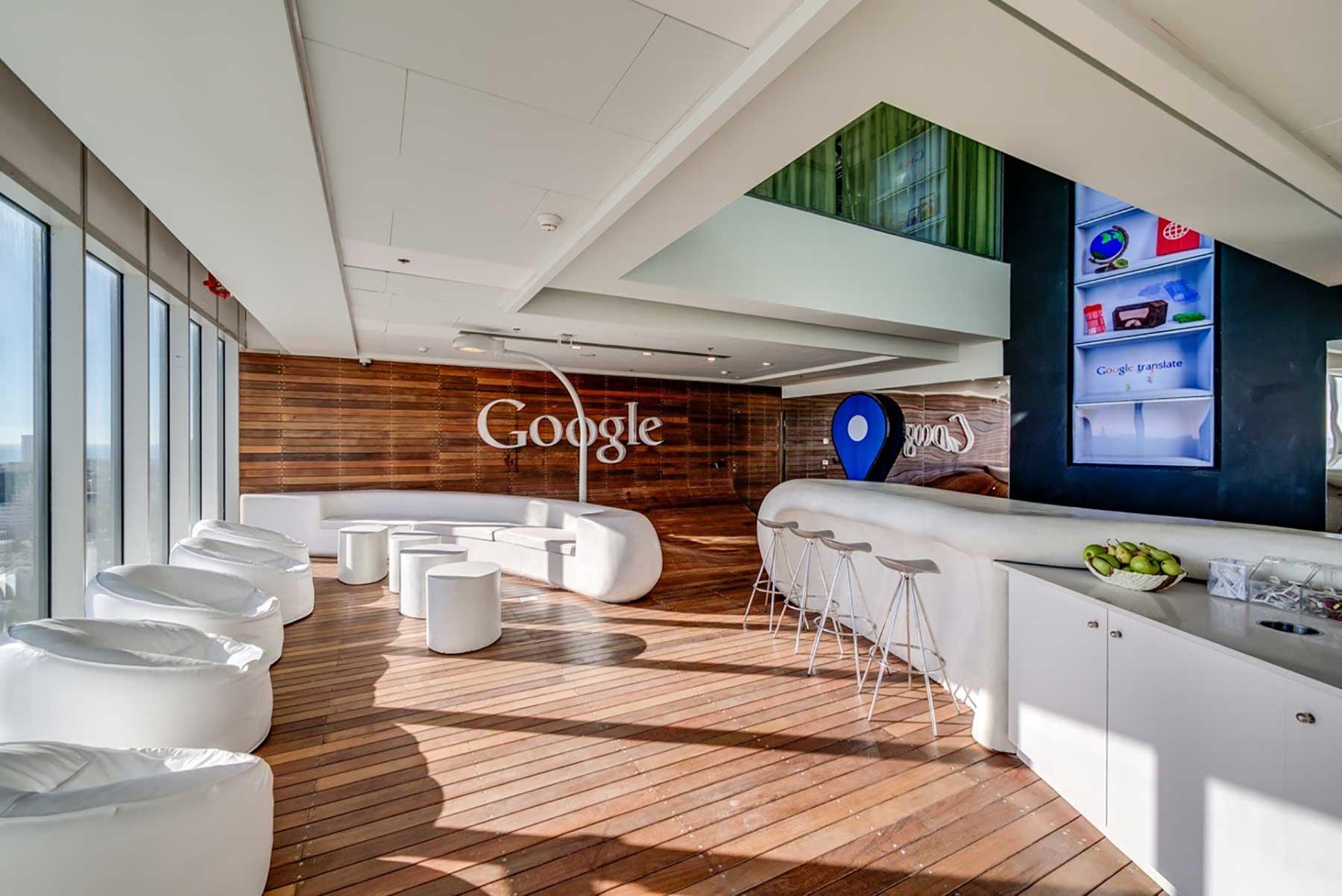 La oficina como imagen de marca: sede de Google en Tel Aviv