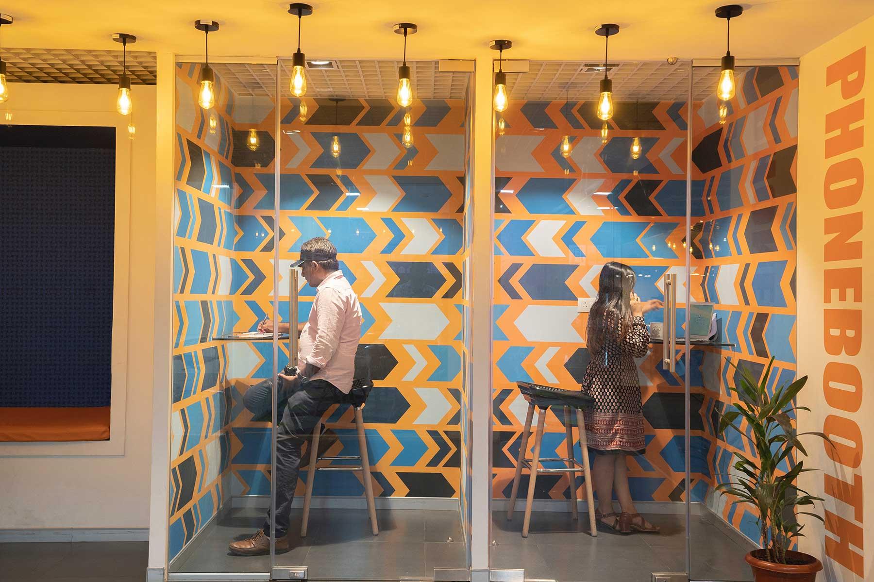 Phone boxes en los nuevos diseños de oficina