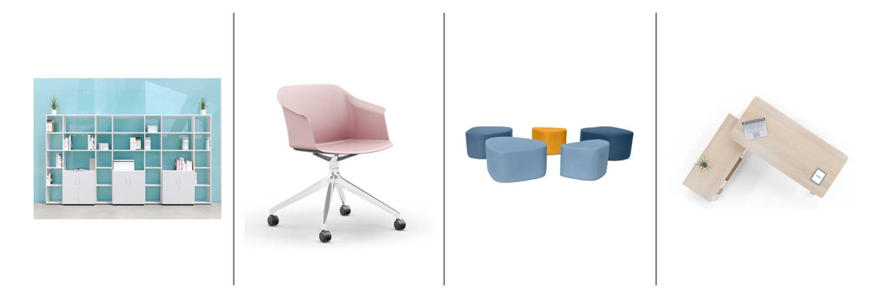 Mobiliario de estilo moderno y funcional de limobel inwo