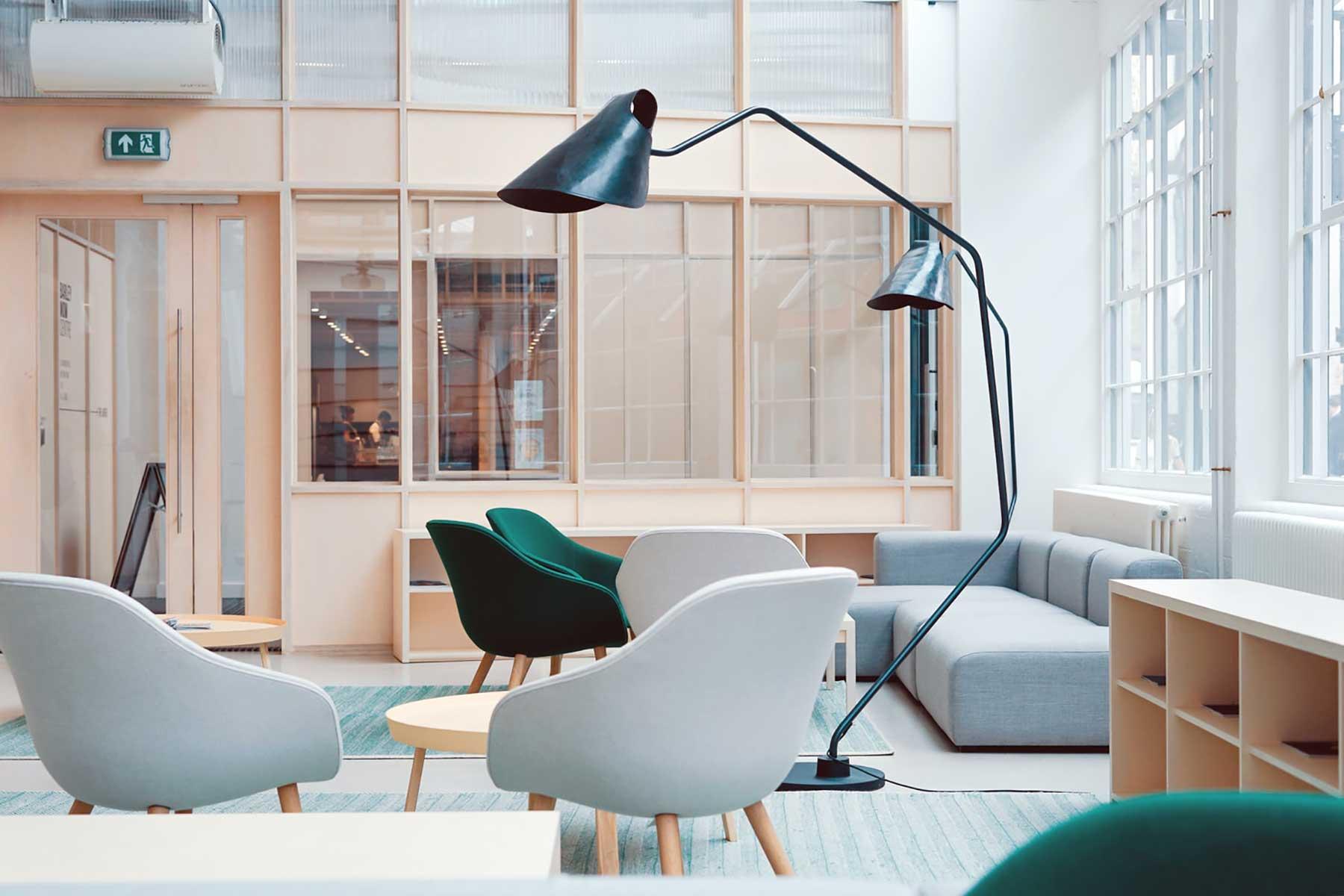 Mobiliario de estilo moderno