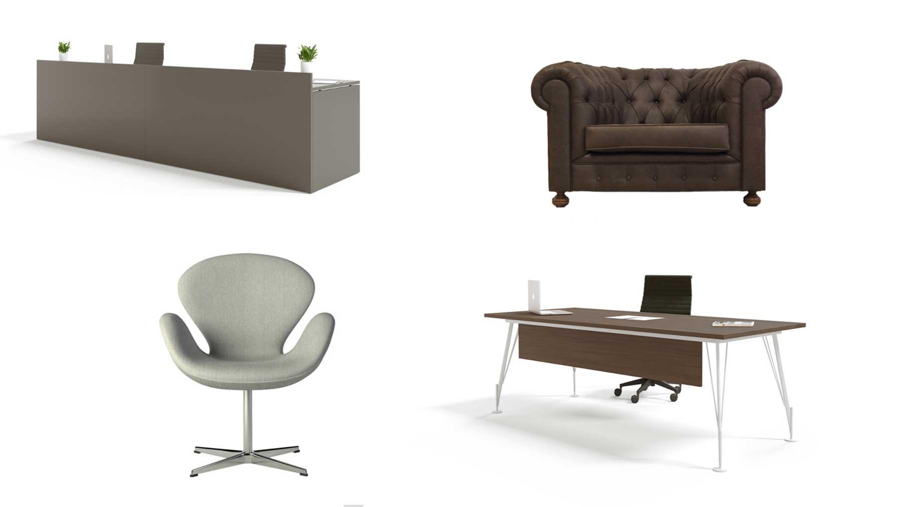 Muebles de estilo ejecutivo de Limobel Inwo